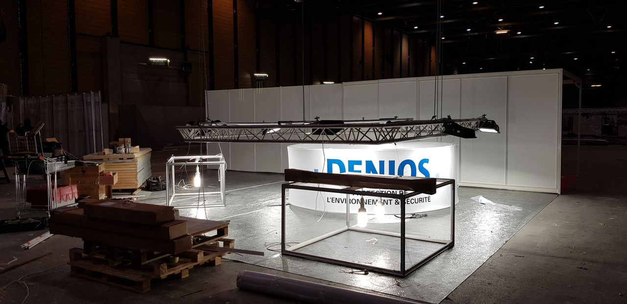 Denios-Pollutec-Lyon -2018-Laps-Evenements-Creation-Stands-Paris